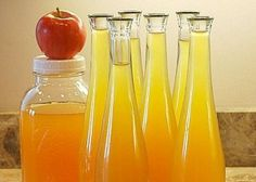 Яблочная настойка на спирту