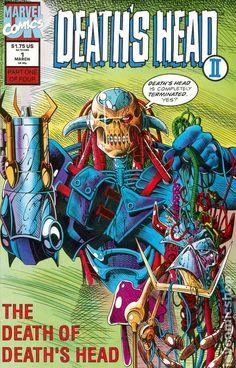 Deaths Head II (1992 1st Series) 1A