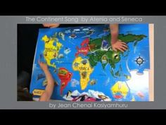 Montessori Preschool - Geography - The Continents Song - YouTube
