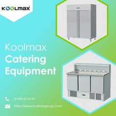 Koolmax Catering Equipment KoolMax Group is one of the prominent manufacturers in the United Kingdom within the commercial refrigeration sector. We have a proficient and most stylish catering equipment available. Stainless Steel Interior and Exterior,  Ventilated cooling system, Embraco compressor For more Information please call now ☎️ 01204 32 44 33 Commercial Catering Equipment, Business Sales, Cooling System, Types Of Doors, Good Customer Service, Single Doors, Company Names, Save Energy, Interior And Exterior