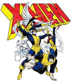 Xmen, Uncanny, Comics, Quadrinhos, Cyclops, Ciclope, Marvel Girl, Garota Marvel, Beast, Fera, Ice Man, Homen de Gelo, Archangel, Arcanjo, Marvel, Stan Lee