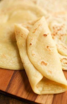3 ingredient, soft grain free tortillas that are also nut free and vegan! Made with coconut milk, tapioca flour and chickpea. Grain Free Tortillas - 3 ingredient, soft tortillas that are grain free nut free & vegan! Gf Recipes, Dairy Free Recipes, Mexican Food Recipes, Low Carb Recipes, Whole Food Recipes, Cooking Recipes, Healthy Recipes, Gluten Free Roti Recipe, Cooking Tips