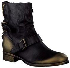 Zwarte Omoda korte laarzen 900219