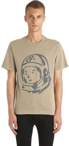 Astronaut Printed Cotton Jersey T-Shirt