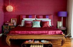 stanza letto viola - Cerca con Google