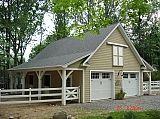 Friendship nj horse barn and garage hardie siding
