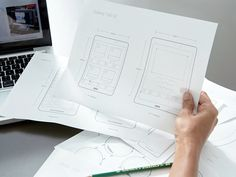 Printable Ui Prototypes by Sidecar #Design Popular #Dribbble #shots