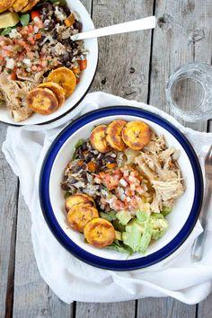 Cuban Salad Bowl #healthy #salad #recipe