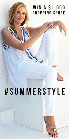 Karen Kane $1,000 shopping spree! Made in the USA! Enter to win: www.karenkane.com/1000-shopping-spree #SummerStyle #Shopping_Spree