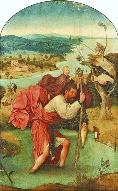 Музей Бойманса-ван Бёнингена Роттердам (fb2) | Либрусек  Иероним Босх (около 1450–1516) Святой Христофор 1490–1505. Дерево, масло. 113x71,5
