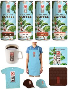 Kohana Coffee on Packaging of the World - Creative Package Design Gallery