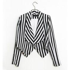 Beetlejuice looking jacket. Love it.
