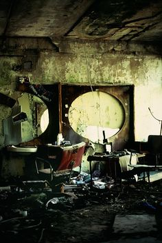 Inside The Exploded Nuclear Power Station - English Russia - A Former Salon