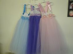 The Three sisters, Full- length tulle tutu, These are professionally made- NOT tied but sewn With an underskirt.  Any color and size - visit me at fairyduststitches.etsy.com to purchase  or order special for wedding, special events or just for that special little princess in your home