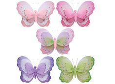 Butterfly Decor Hanging Butterflies For Girls Room by BugsnBlooms