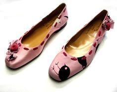 Las Bailarinas Locas zapatos de Ana Paola Pascuzzi, Italia / Crazy ballerinas by Ana Paola Pascuzzi, Italy
