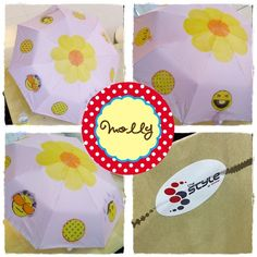 Umbrella painting volunteer to The Style by Toyata. Umbrella Painting, Umbrellas, Little Girls, Flowers, Top, Photography, Ideas, Style, Fall