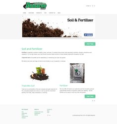 Demaree Sod Triple Mix Soil and Fertilizer products page.