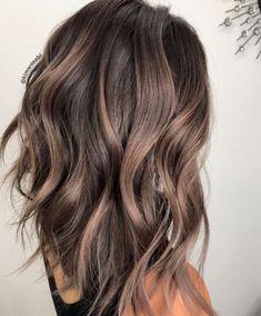 Cool Tone Brown Hair, Medium Brown Hair Color, Brown Ombre Hair, Brown Hair Balayage, Short Brown Hair, Hair Color Balayage, Brown Hair Colors, Lowlights On Brown Hair, Balayage Hair For Brunettes