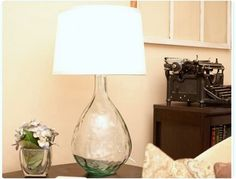 Love these DIY Pottery Barn knock off lamps