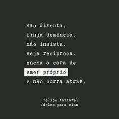 """1,208 curtidas, 21 comentários - Felipe Taffarel (Taffa) (@fetaffa) no Instagram: """"Não é egoísmo ser prioridade. O nome disse é maturidade. """""""