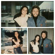 Barry Gibb and first wife Maureen Bates. Could not find a