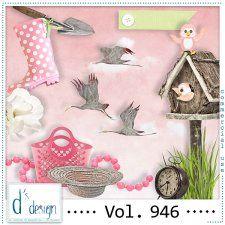Vol. 946 - Spring Mix by Doudou's Design  #CUdigitals cudigitals.comcu commercialdigitalscrapscrapbookgraphics