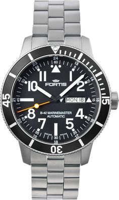 Fortis Watch Aquatis Diver Titanium #bezel-unidirectional #bracelet-strap-titanium #brand-fortis #case-material-titanium #case-width-42mm #date-yes #day-yes #delivery-timescale-1-2-weeks #dial-colour-black #gender-mens #luxury #movement-automatic #official-stockist-for-fortis-watches #packaging-fortis-watch-packaging #style-dress #subcat-aquatis #supplier-model-no-647-29-41-m #swiss-fortis #warranty-fortis-official-2-year-guarantee #water-resistant-200m