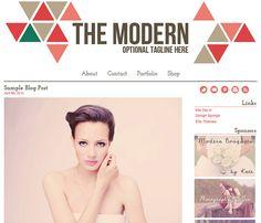 Wordpress Theme Design - The Modern Template