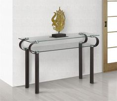 Zuo Entryway Furniture Decorative Objects and Top Metal Bases Side Tables