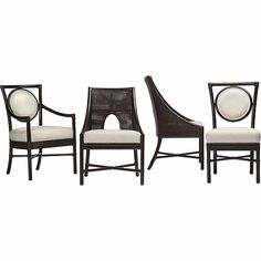 McGuire Furniture: Orlando Diaz-Azcuy Salon™ Side Dining Chair: No. M-221B.  Please contact Avondale Design Studio for more information about any of the products we feature on Pinterest.