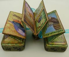 Domino Book. Good example of what can be done with a story in a book like form. (Independent Art Project....)