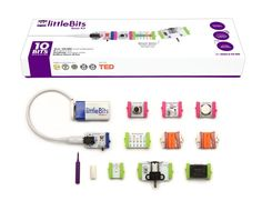 Littlebits base kit library lessons, new gadgets, cool gadgets, electronic kits for kids Electronics Projects, Cool Electronics, New Gadgets, Cool Gadgets, Electronic Kits For Kids, Electronic Toys, Cadeau Parents, Young Engineers, Unique Gifts For Kids