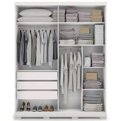 Wardrobe Interior Design, Wardrobe Door Designs, Bedroom Closet Design, Closet Designs, Ikea Wardrobe, Wardrobe Organisation, Wardrobe Furniture, Wardrobe Cabinets, Bedroom Setup