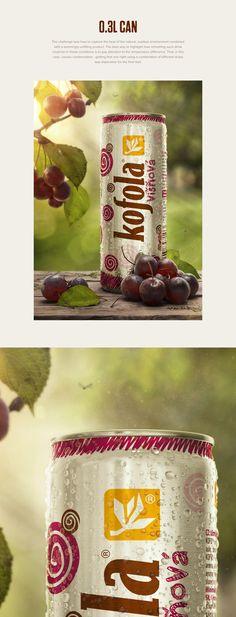 Kofola soft drinks on Behance