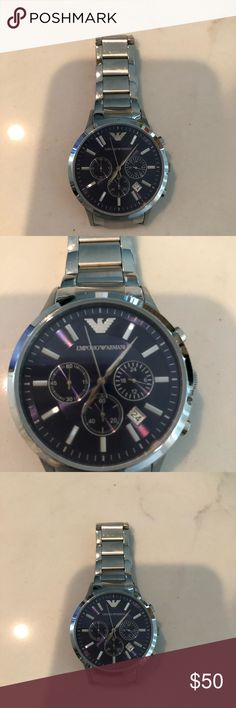 Emporio Armani Mens Watch Mena Emporio Armani watch. Stainless steel Emporio Armani Accessories Watches