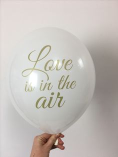 """Love is in the air"""