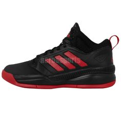 Adidas Runthegame Black Red 2015 Mens Basketball Shoes Sneakers  see Adidas base collections: http://www.ebay.com.au/cln/acrossports/Adidas-Basketball-Collections/173872017016