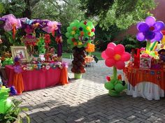 Dora the Explorer Birthday Party Ideas | Photo 14 of 18 | Catch My Party