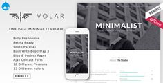 Volar is a Fully Responsive, Modern and Multipurpose Drupal 7 Theme based on Bootstrap 3 framework created for Creative Professionals, Agencies, Content Creators and Photographers. This Theme is de. Theme Template, Budget Template, Joomla Templates, Brochure Template, Theme Forest, Minimal Theme, Drupal, Website Themes, First Page