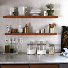Around the House, Kitchen Update from The Urban Cottage - wonderful, wonderful kitchen