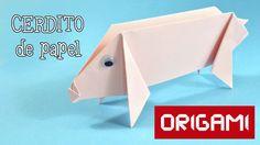 Cerdito de origami:  http://www.hoynohaycole.com/archives/origami-cerdito-de-papel/