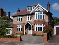 10 Places to See in the UK Before You Die - Travel With 1930s House Exterior Uk, Garage Exterior, House Front Door, Garage House, 1930s House Extension, Side Extension, 1930s Semi Detached House, Porch Uk, Edwardian Haus