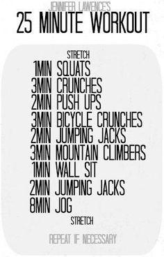 ✨25 Min Workout✨ #Health #Fitness #Trusper #Tip