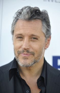 Sexy men with grey hair