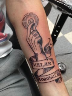 These Game of Thrones Tattoos Are Cooler Than Winter (Which Is Totally Coming) - Valar Morghulis | Guff