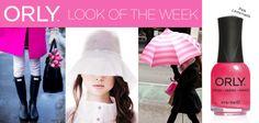 Pink Rain con Smalto ORLY Pink Lemonade