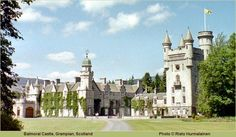 Balmoral Castle in Scottland. Purchase by Price Albert for the Royal Family in 1852