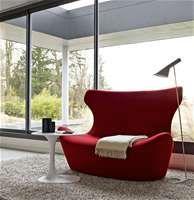 Sofa: LOVE PAPILIO - Collection: B&B Italia - Design: Naoto Fukasawa