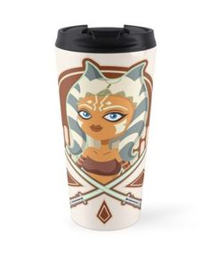 Ahsoka the padawan, the small and brave warrior is ready to free the galaxy from evil. Vector illustration. • Also buy this artwork on home decor, apparel, stickers, and more.  #Vector #AdobeIllustrator #digitalart #illustration #starwars #ahsoka #AhsokaTano #padawan #cute #tshirts #jedi #redbubble #prints #Clonewars #PrintsOnDemand #rebels #togruta #twilek #fulcrum #girl #scifi #lightsaber #sword #vector #vectorart #tshirt #cases #cartoon #prints #art #fanart #apparel #posters #mug